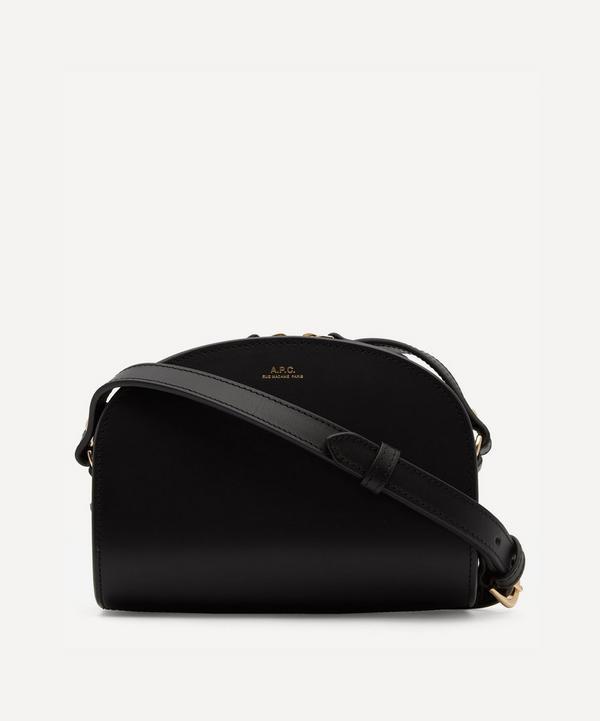 A.P.C. - Mini Leather Demi-Lune Bag