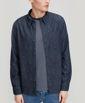 Trek Pocket Denim Shirt