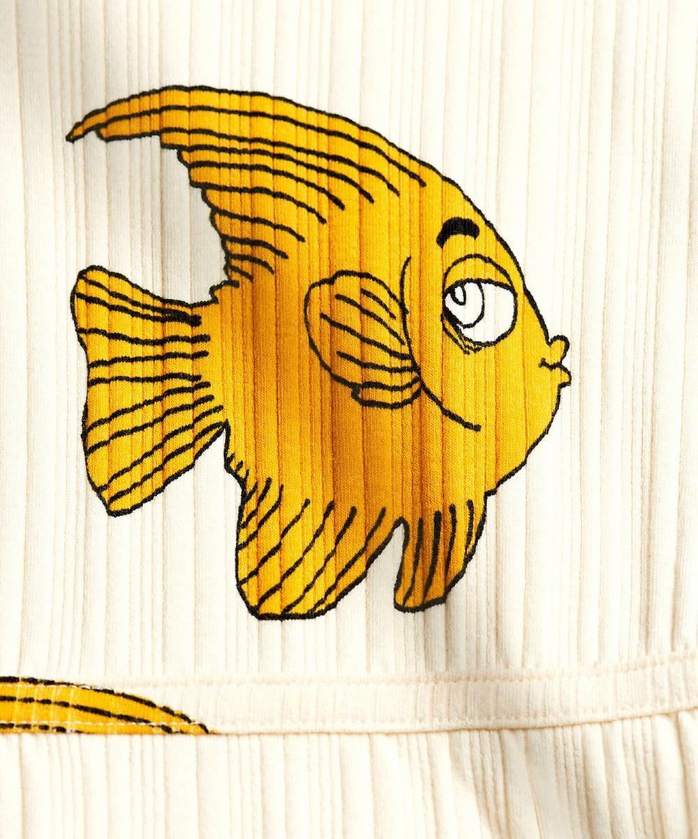 Fish Short-Sleeved Dress 2-8 Years