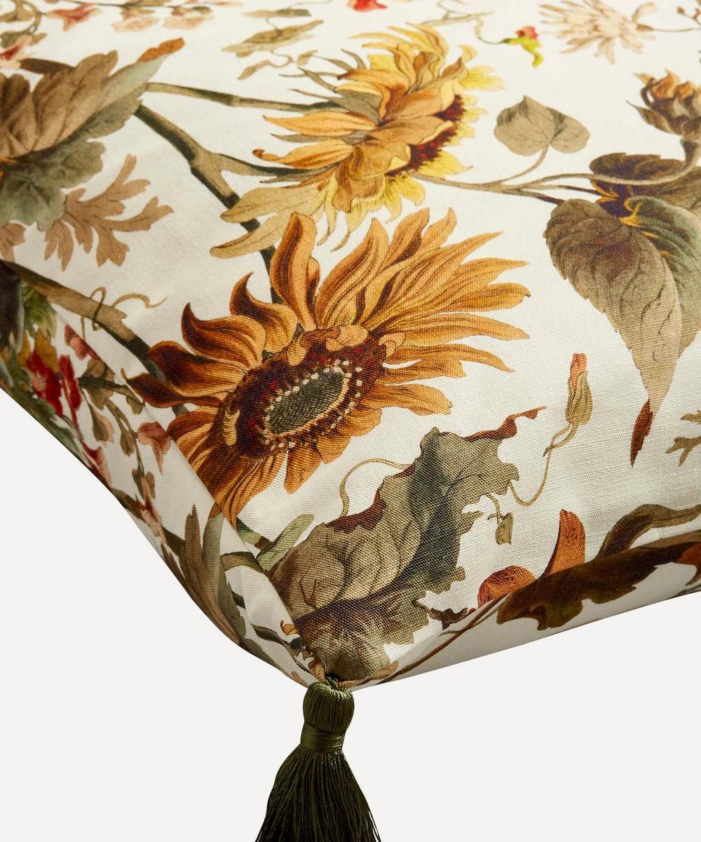 Avalon Cotton Linen Tassel Cushion