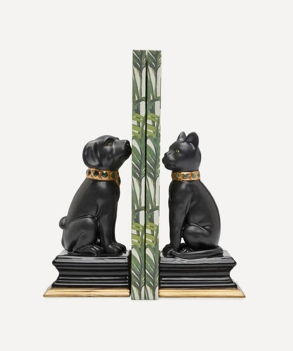 House of Hackney - Cleo The Cat and Nyx The Dog Bookends