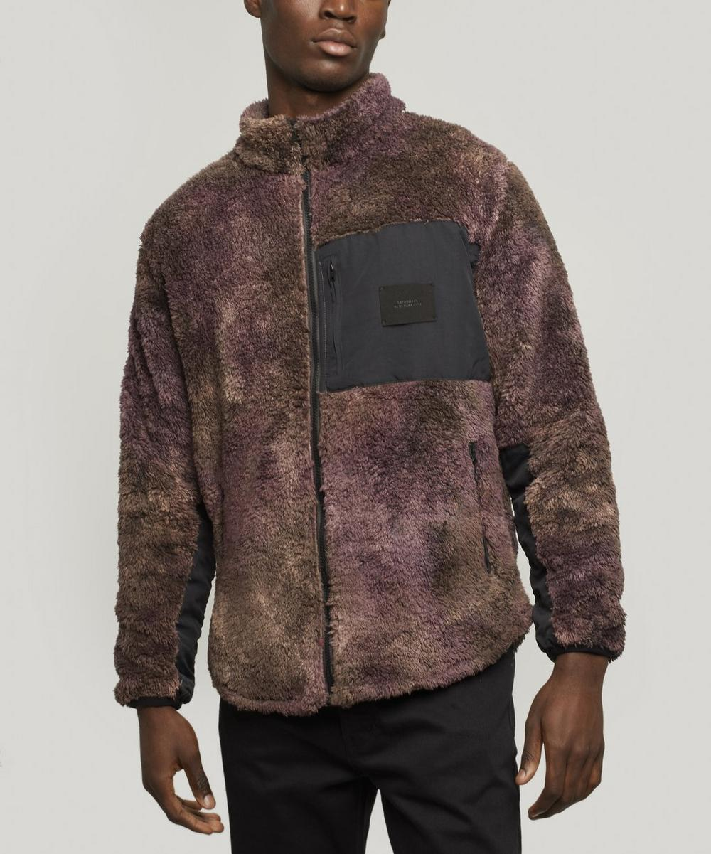 Stenstrom Tie-Dye Fleece Jacket