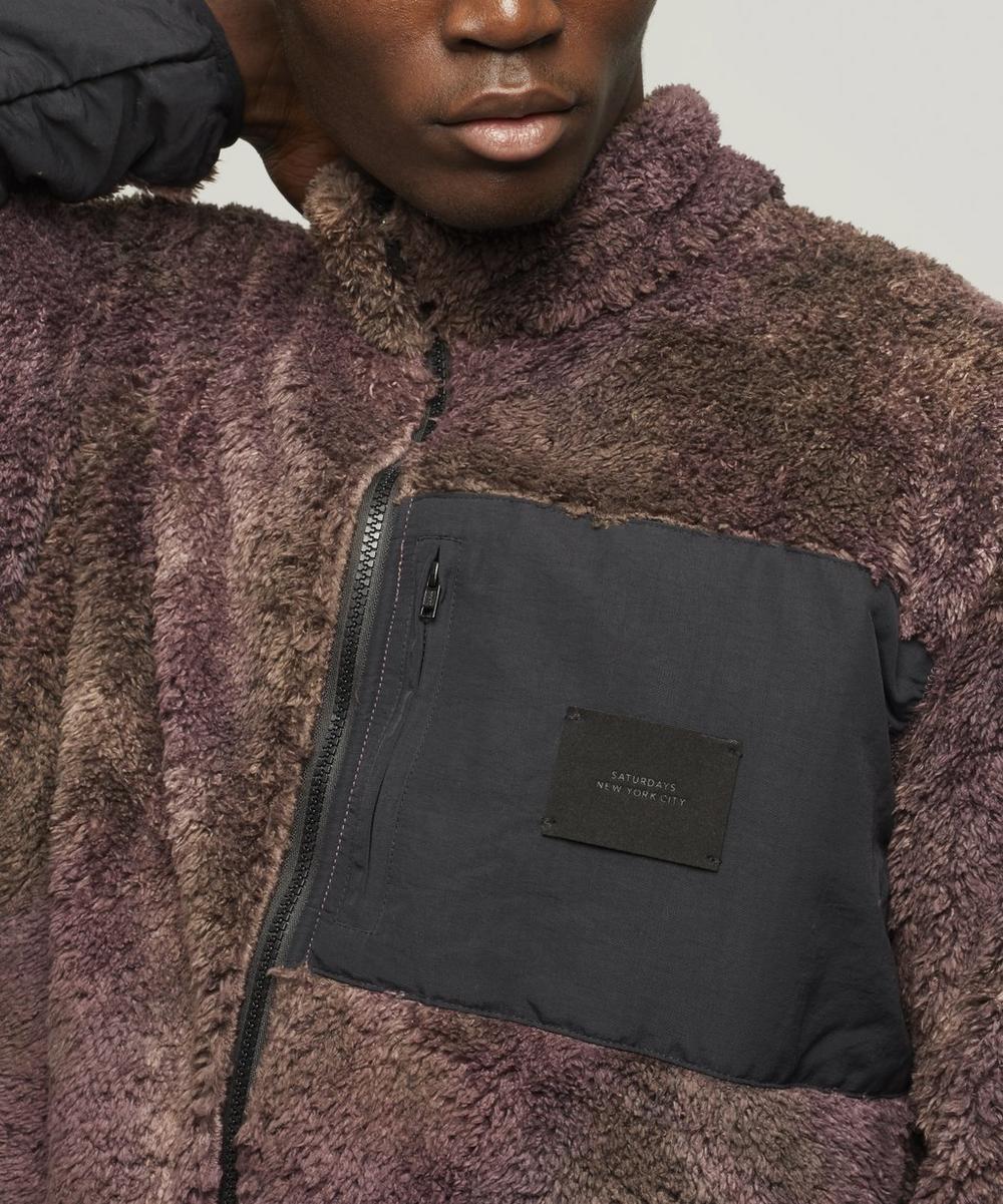 Stenstrom Tie-Dye Fleece Jacket