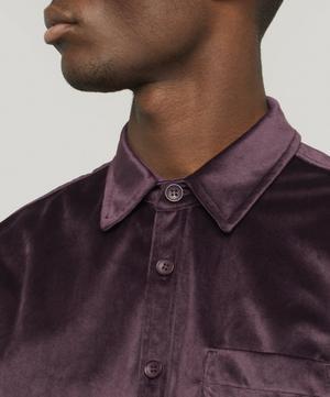 Perry Velvet Shirt
