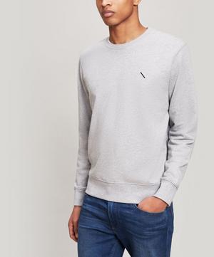 Bowery Slash Embroidered Sweatshirt
