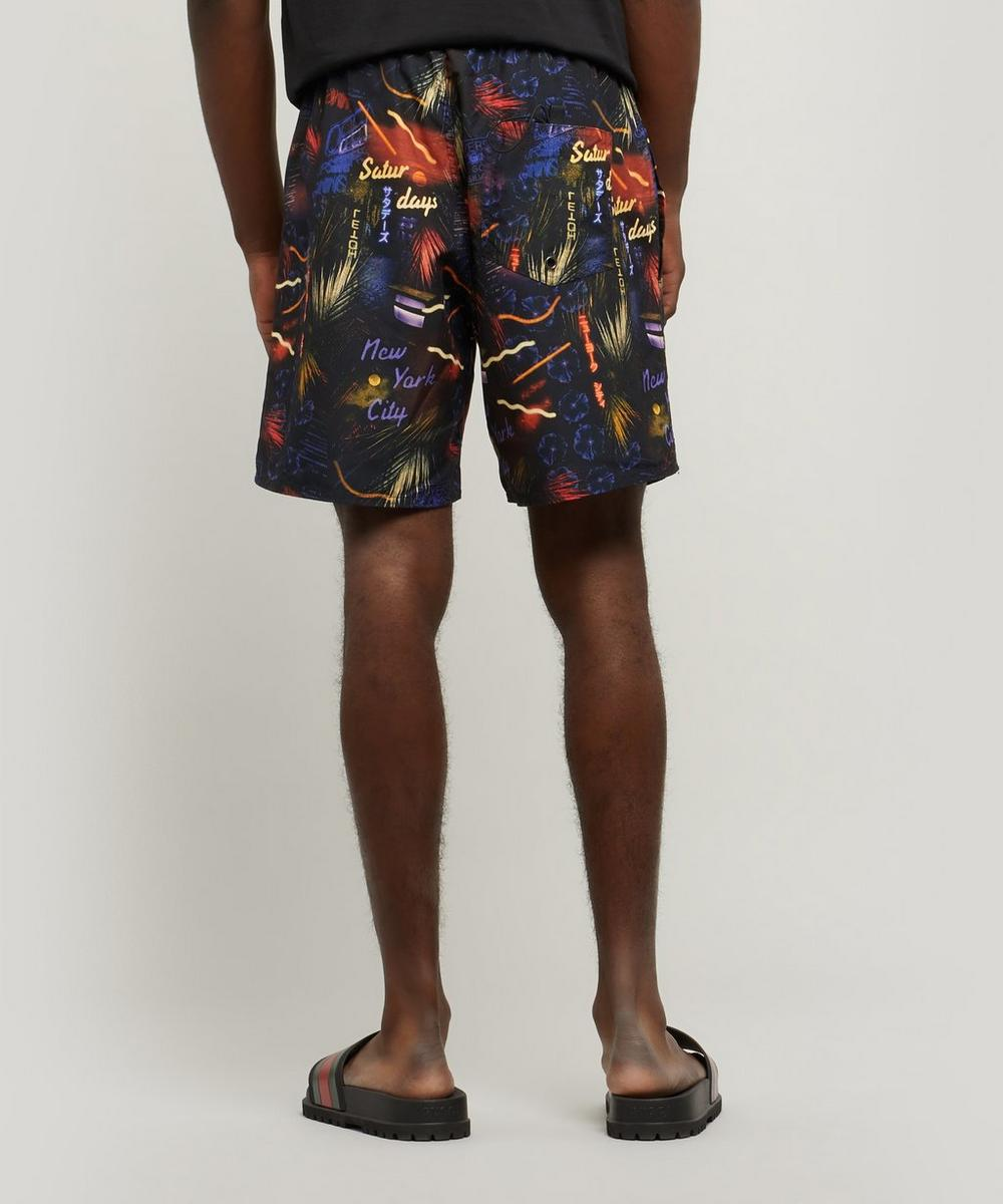 Timothy Midnight Paradise Swim Shorts