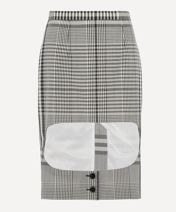 Burberry - Runway Gingham Skirt
