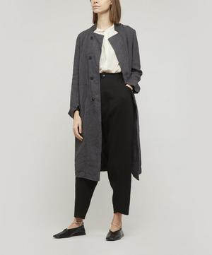 Linen Tapered Trousers