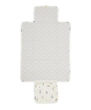 Quilted Organic Cotton Changing Mat