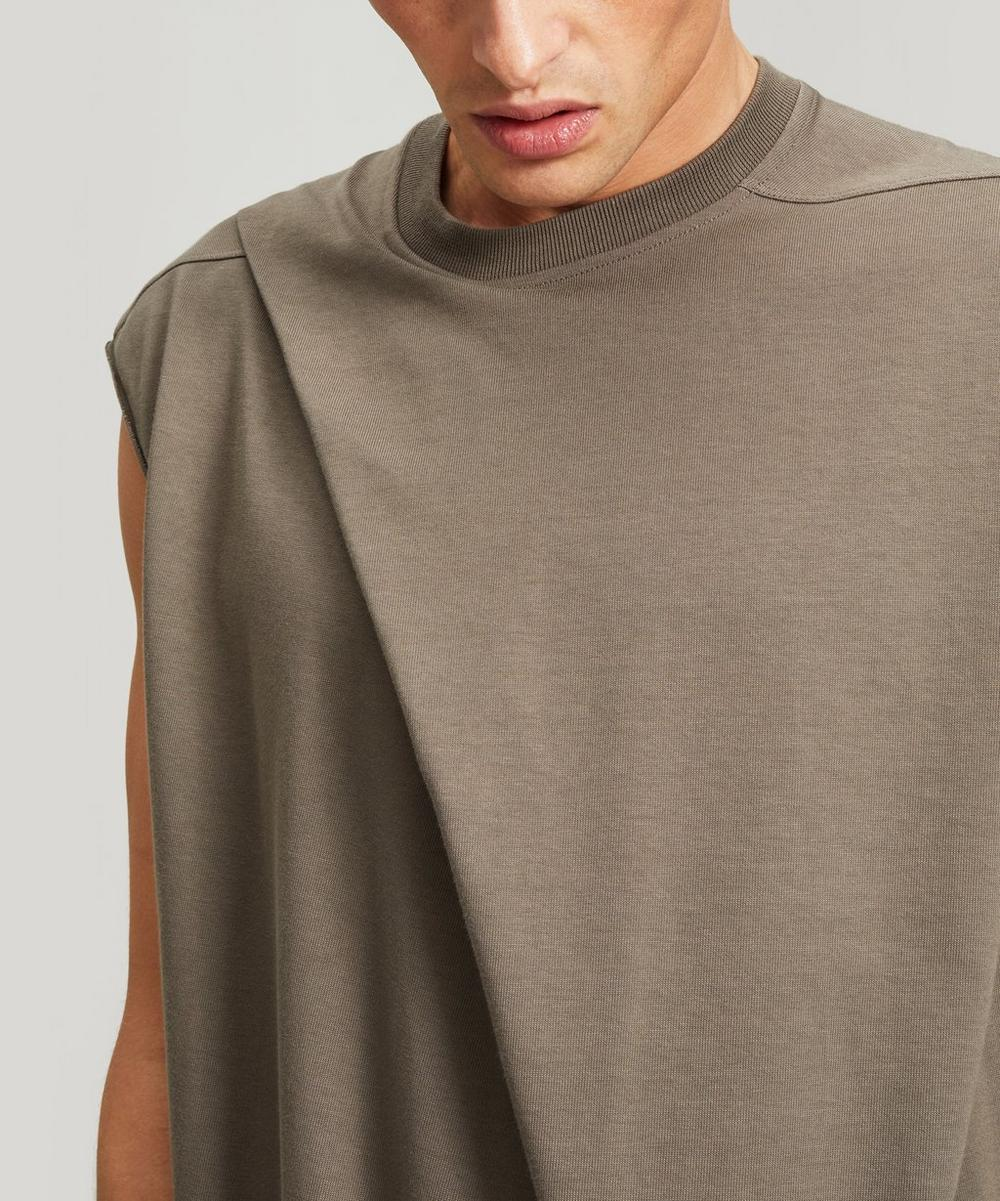 Fold Detail Sleeveless Top