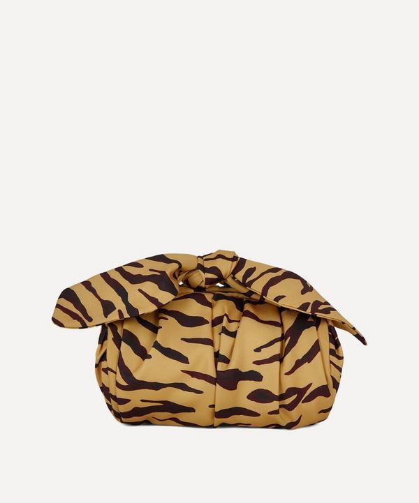 Nane Tiger-Print Cotton Handbag
