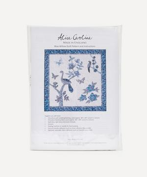 Blue Willow Quilting Kit