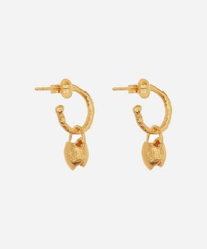 Gold-Plated The Celestial Night Hoop Earrings