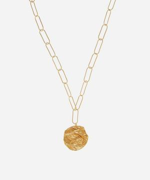 Gold-Plated The Hercules Pendant Necklace