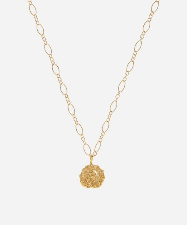 Alighieri - Gold-Plated The Celestial Night Pendant Necklace