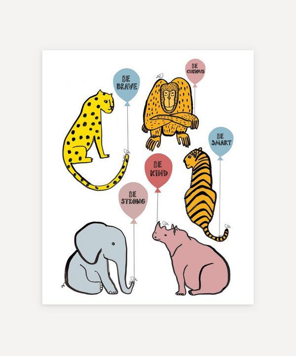 Karin Akesson - Animal Balloon Print
