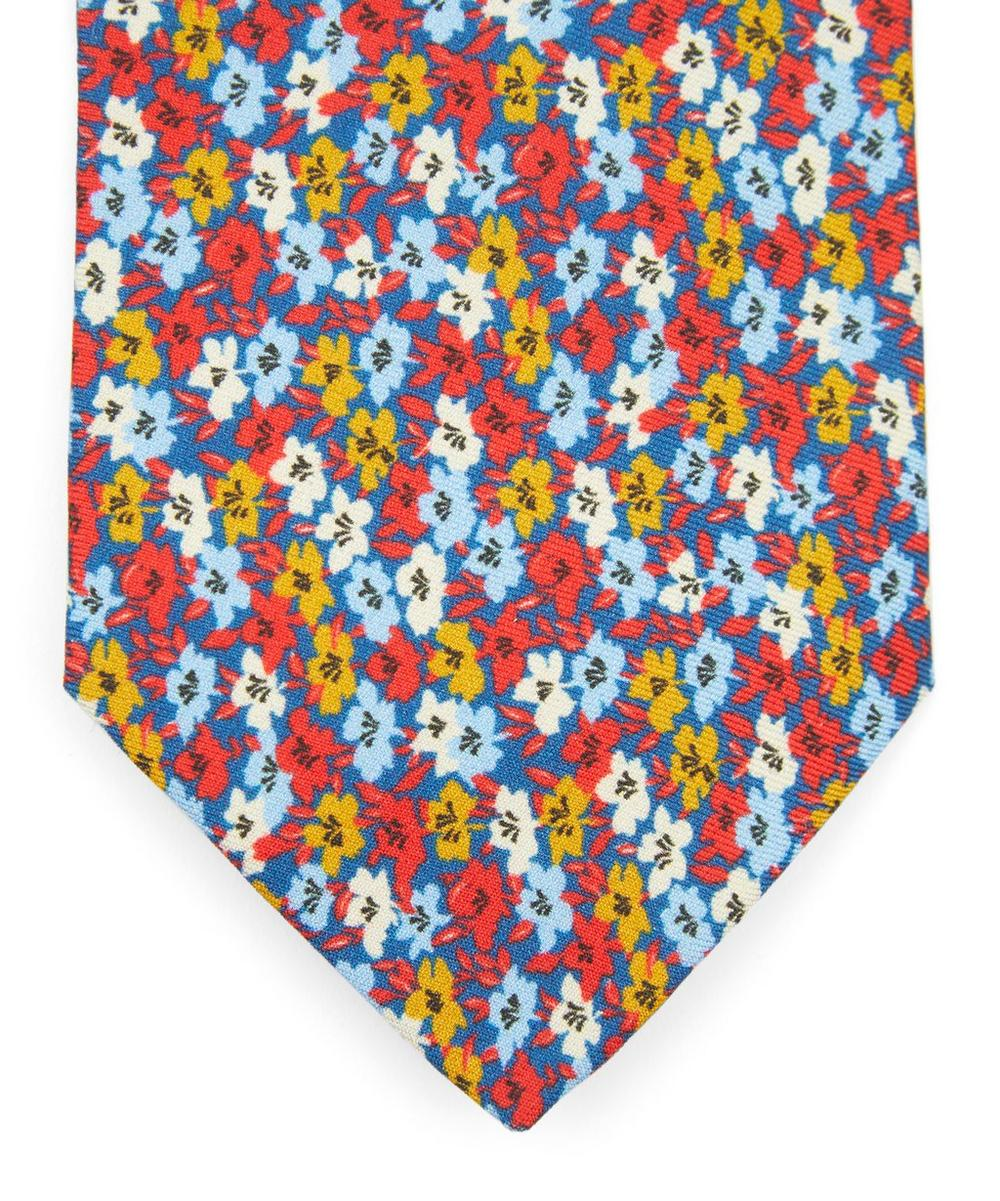 Walker Printed Silk Tie