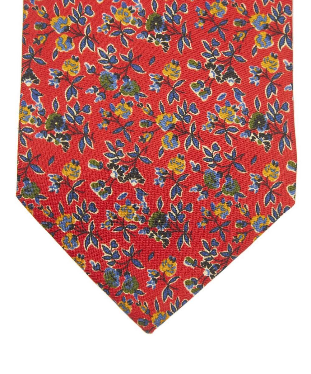 Lyme Printed Silk Tie