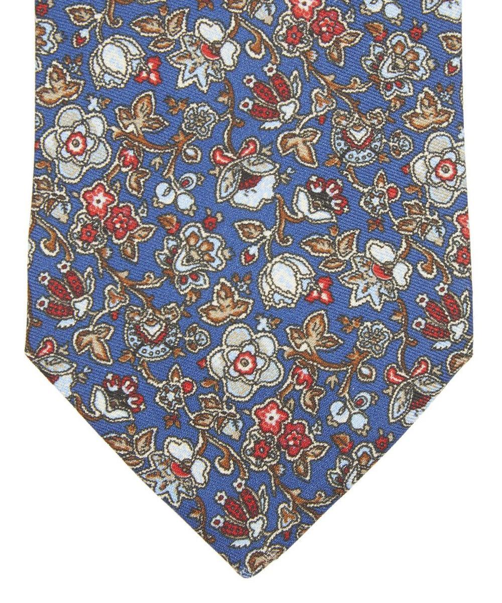 Adlington Printed Silk Tie