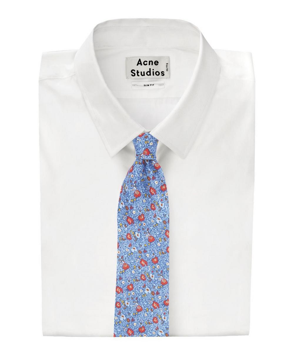Spencer Printed Silk Tie
