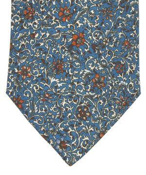 Toft Printed Silk Tie
