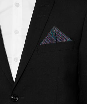 Marple Printed Silk Pocket Square