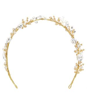 Honey Crystal Headband