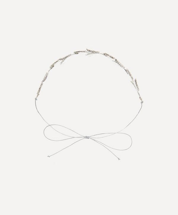 Halo & Co - Donatella Crystal Leaf Headband