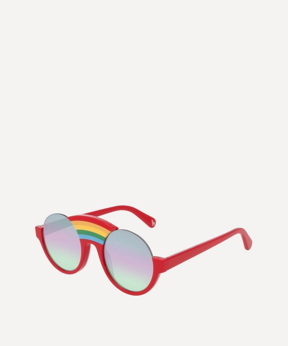 Round Rainbow Bridge Sunglasses
