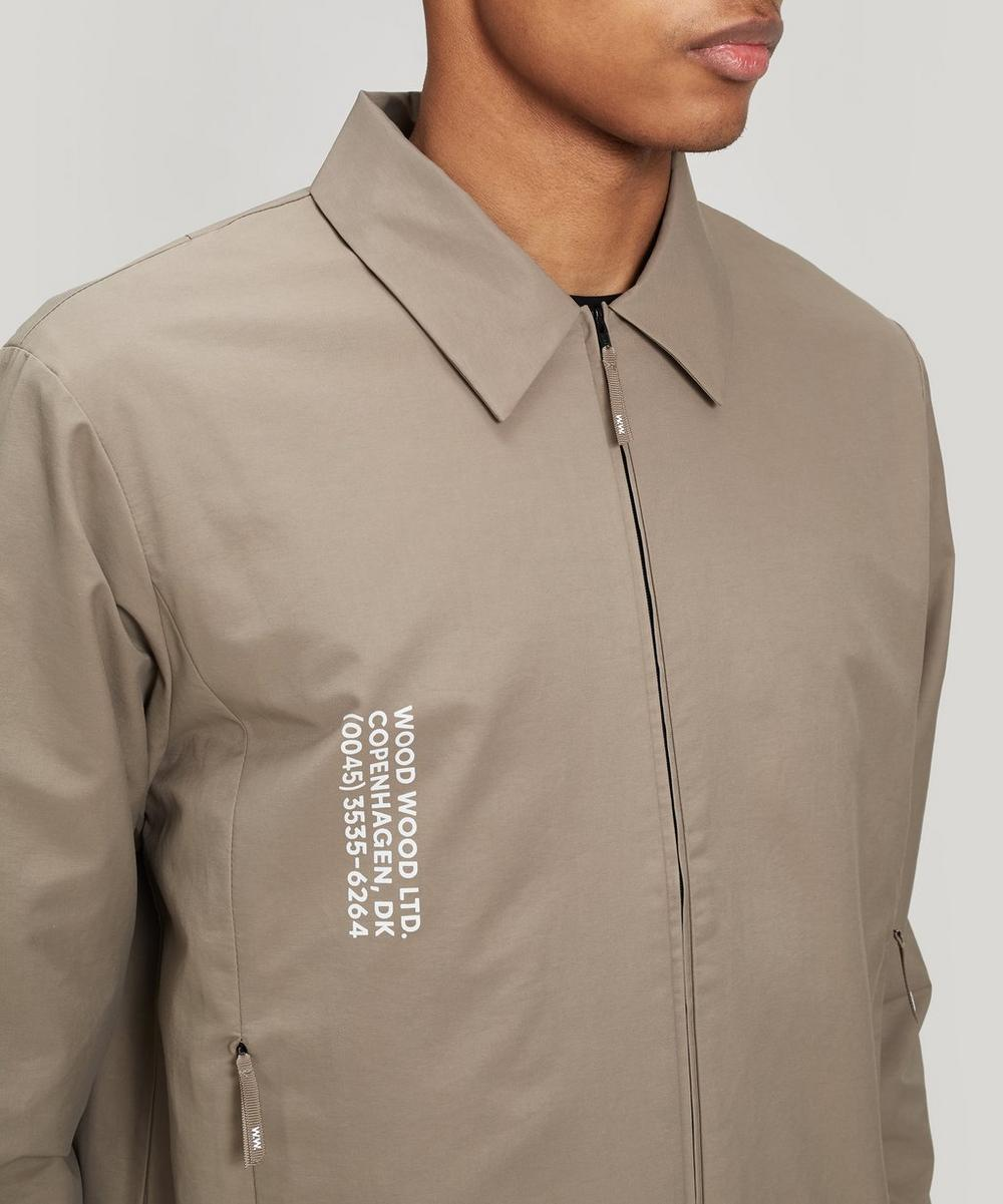 Clive Cotton Twill Zip Jacket