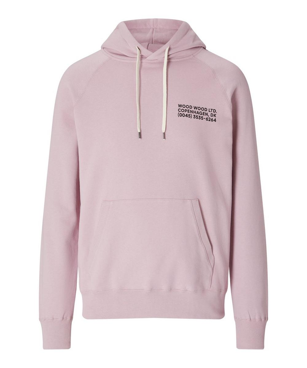 Fred Logo Cotton Hoodie