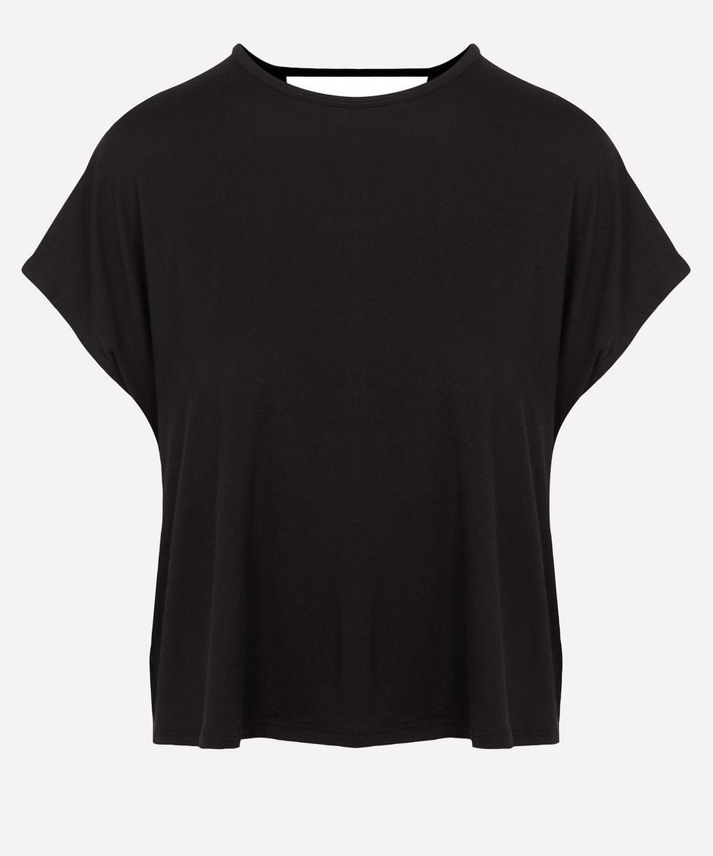 Twist Goodbye Cropped T-Shirt