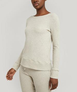 In Line Reversible Pullover Top