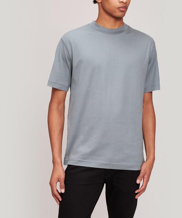 Sunspel - Mock Neck Pima Cotton T-Shirt