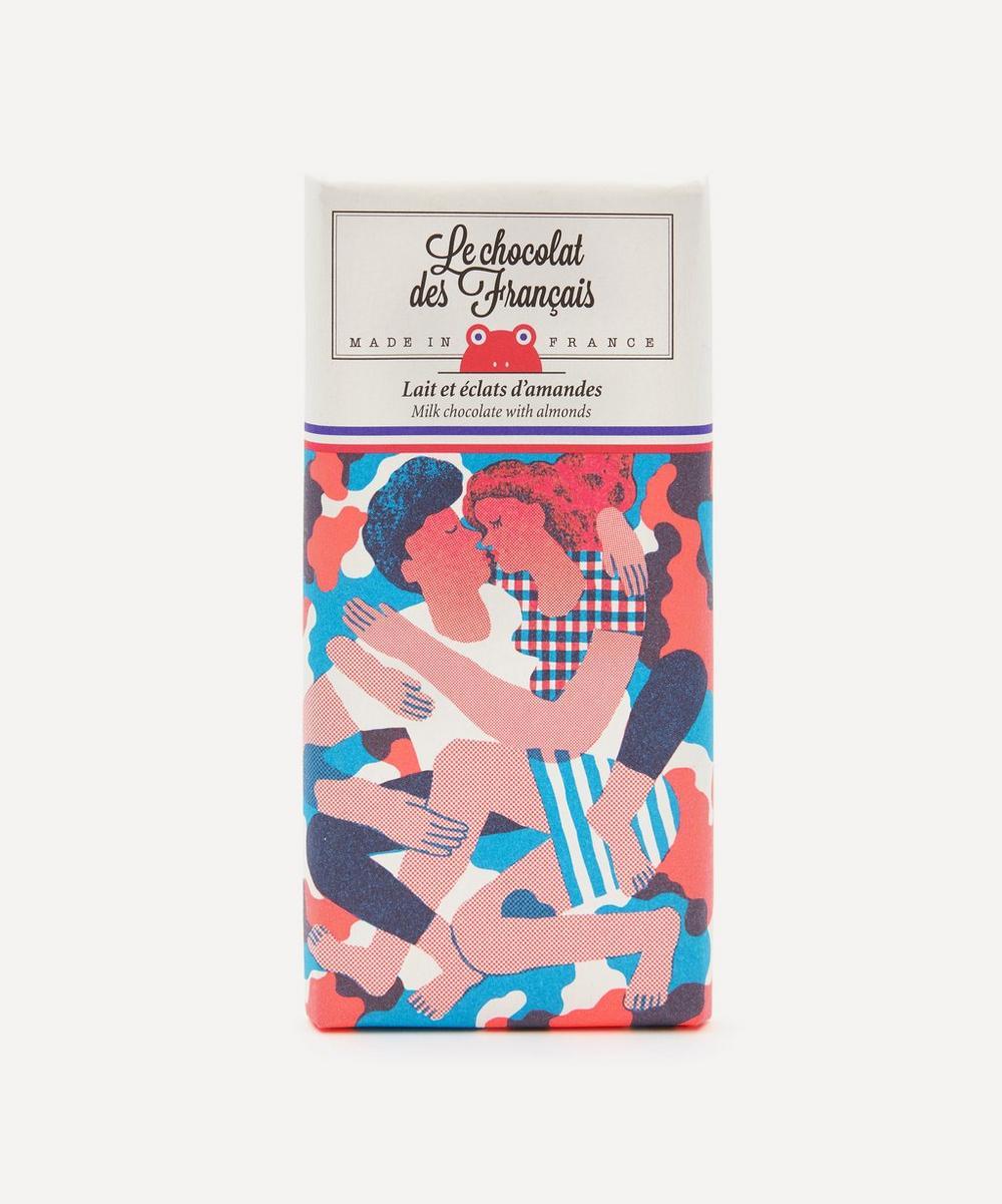 Le Câlin Milk Chocolate and Almond Flakes Bar 80g