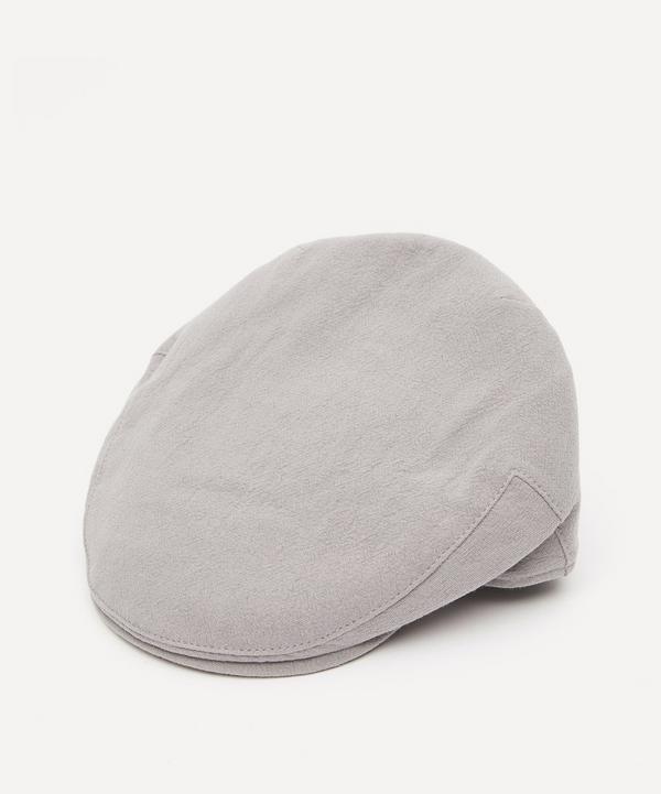 Christys' - Balmoral Heavy Linen Flat Cap