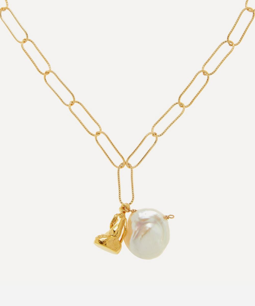 Alighieri - Gold-Plated Tales of the Sea Necklace