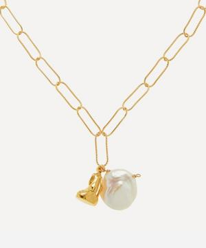 Gold-Plated Tales of the Sea Necklace