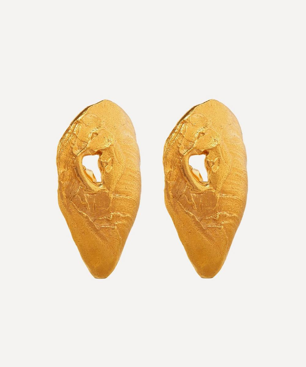 Gold-Plated The Creator Earrings
