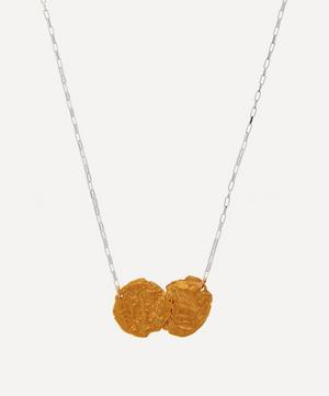 Silver and Gold-Plated The Mark of Friendship Pendant Necklace
