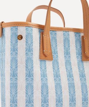 Iphis Stripe Mini Marlborough Cross-Body Bag