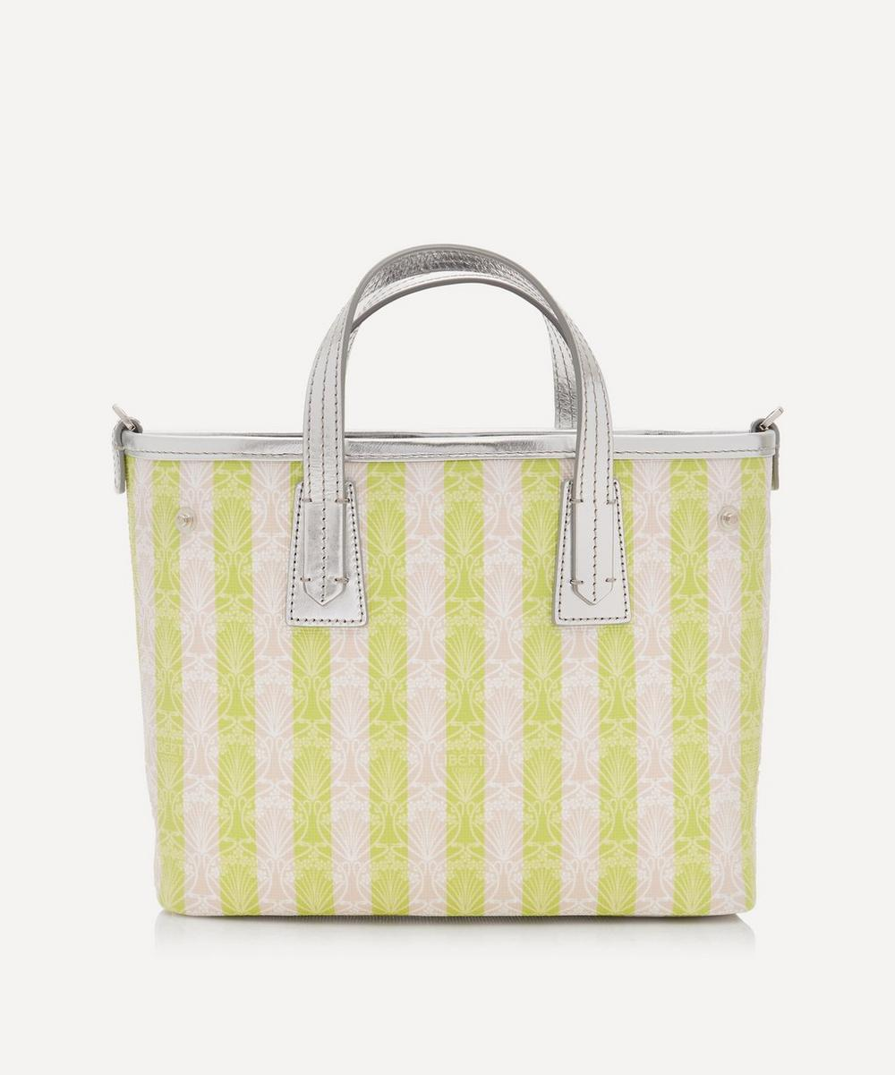 Iphis Stripe Mini Marlborough Cross-Body Bag