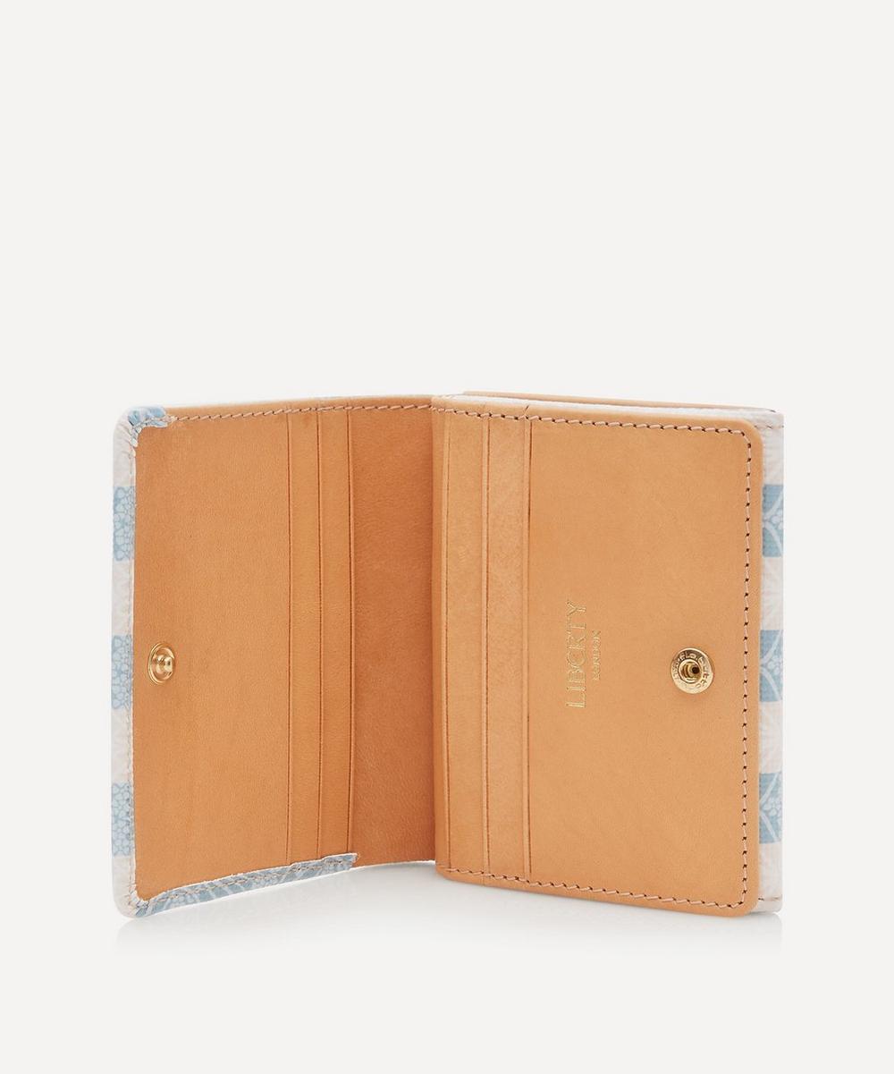 Iphis Stripe Double Wallet