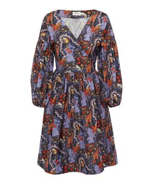 Maxine Taffeta Tie Dress