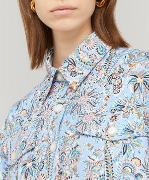 Octavie Cotton Drill Workwear Shirt