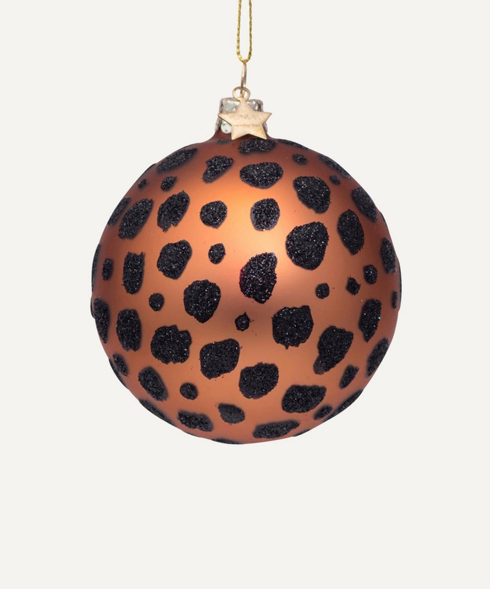 Unspecified - Leopard Spots Bauble Decoration