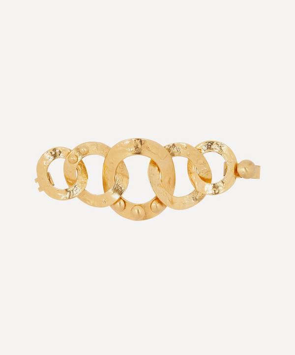Turn of the Century Louis Vuitton Gilt Chain Bracelet
