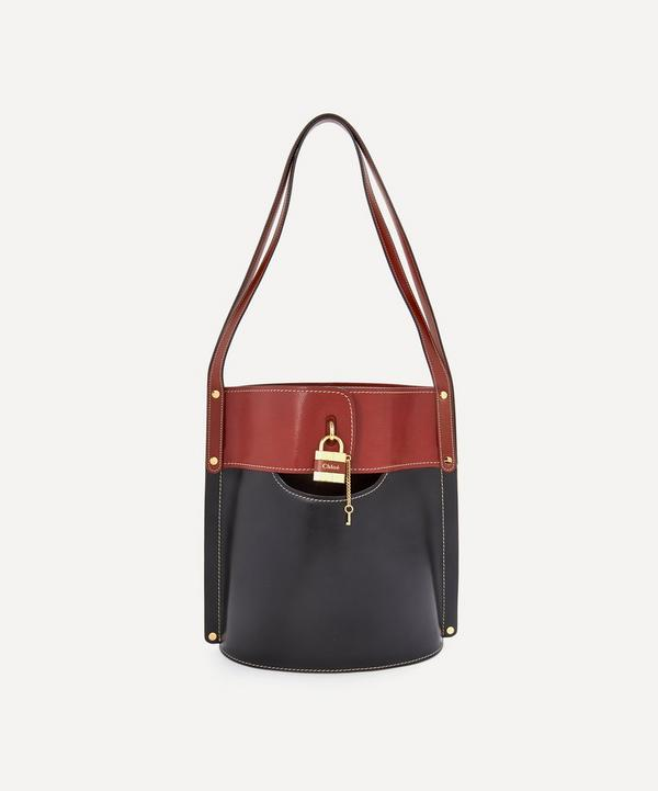 Aby Medium Leather Bucket Bag