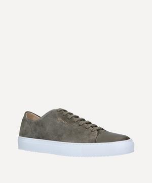 Cap-Toe Suede Sneakers