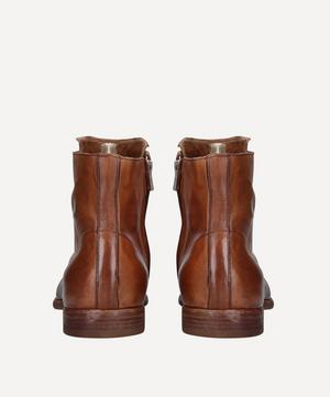Graphis Laceless Leather Boots